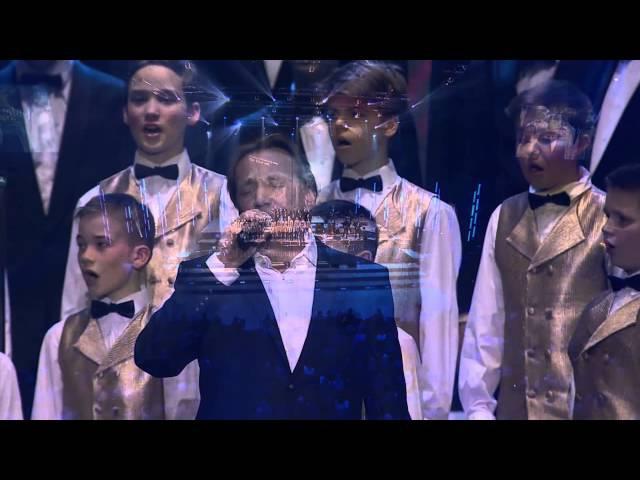 Bet bet Jānis Lūsēns un JMMS zēnu koris Nakts jubilejas koncerts Arēnā Rīga 27 03 2015