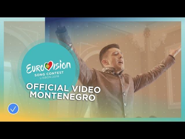 Vanja Radovanovic Inje Montenegro Official Music Video Eurovision 2018