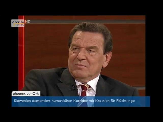 Elefantenrunde 10 Jahre legendärer Schröder Auftritt