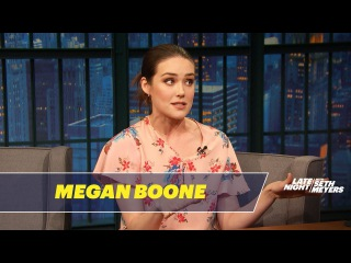 Megan Boone Was Choking on Popcorn When She First Met James Spader