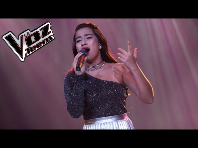 Jennifer canta 'Hasta que te conocí'   Semifinal   La Voz Teens Colombia 2016