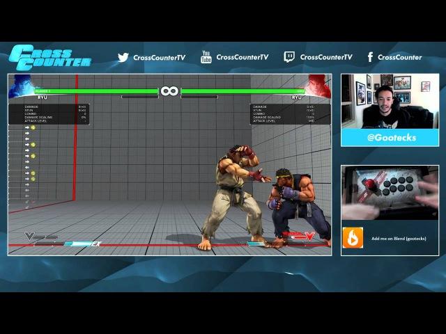 Street Fighter V 101 Обучение основам для новичков вместе с @gootecks Часть 2 Защита Ryu