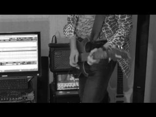 Hotel california solo – michael bröndsted cover  (guitar sound - camera mic)