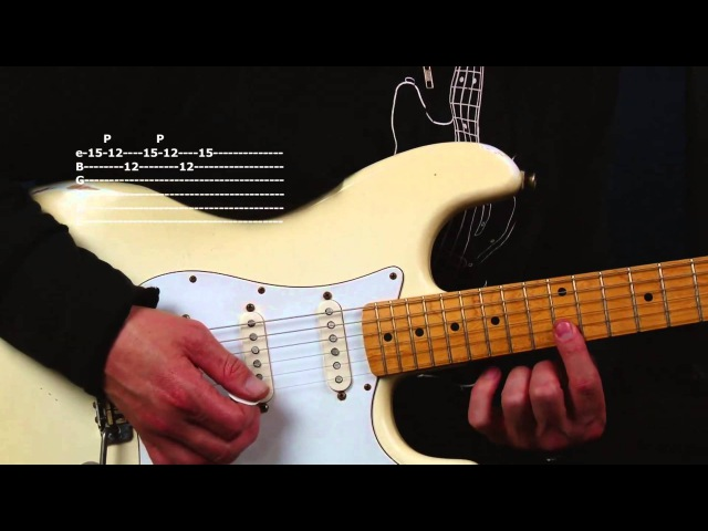 Learn David Gilmour inspired guitar licks and riffs Modern and Classic Blues Rock Masters lesson