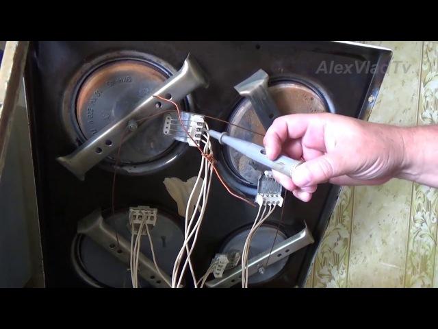 Замена конфорки на электроплите легко и просто