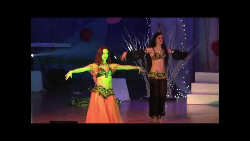 Шикидим виконання групи східного танцю Аль - Джохара в Лозівському міському Палаці культури.