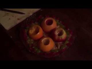 Кулинар 2 Diablo: Фруктовое блюдо с вином