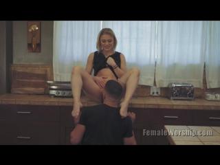 Ash Hollywood [HD 720, femaleworship, femdom, cunilingus, XXX, facesitting, pussy licking, new porn]