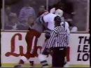 Bob Probert vs Link Gaetz Nov 14 1991