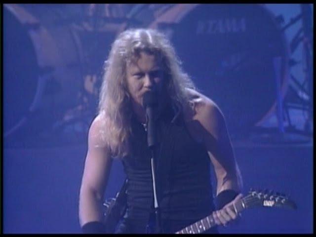 Metallica - Enter Sandman - Live at The Video Music Awards (1991)