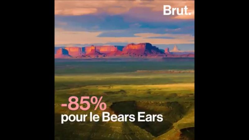 Environnement Le président américain a ordonné la diminution massive de deux zones naturelles protégées de l'Utah