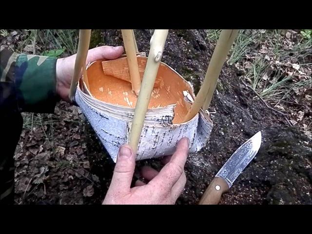Вода в лесу как ее найти и сделать пригодной для употребления.