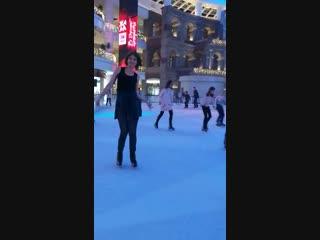 Я немножко танцую))