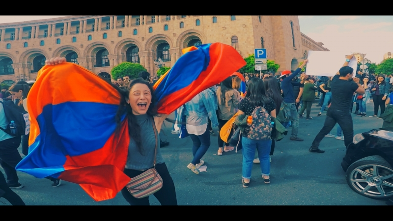 Nikol Pashinyan Chka urish tarberak official video Նիկոլ Փաշինյան Չկա ուրիշ տարբերակ