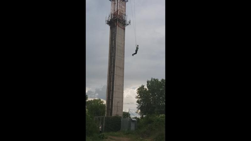 прыжок 45м