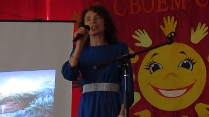 Елизавета Барабашова песня А на земле быть добру в Ширяевской СОШ на празднике Посели добро в своём сердце 30 апреля