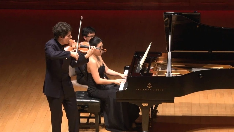 Schumann: Violin Sonata No. 1 in A minor, Op. 105, HKICMF 2014
