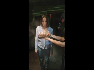 Маша Бабко задувает свечи на своем 20ти летии! GoddesBabko #goddesbabko #mashababko