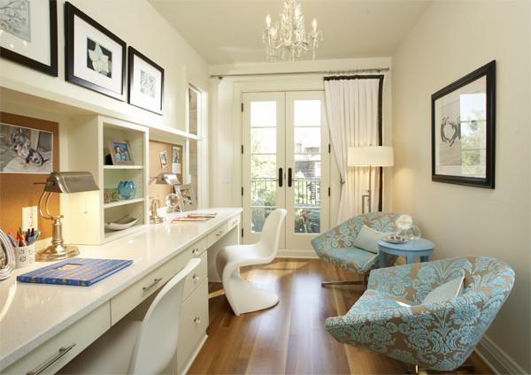Как расставить мебель в длинной и узкой комнате, изображение №5