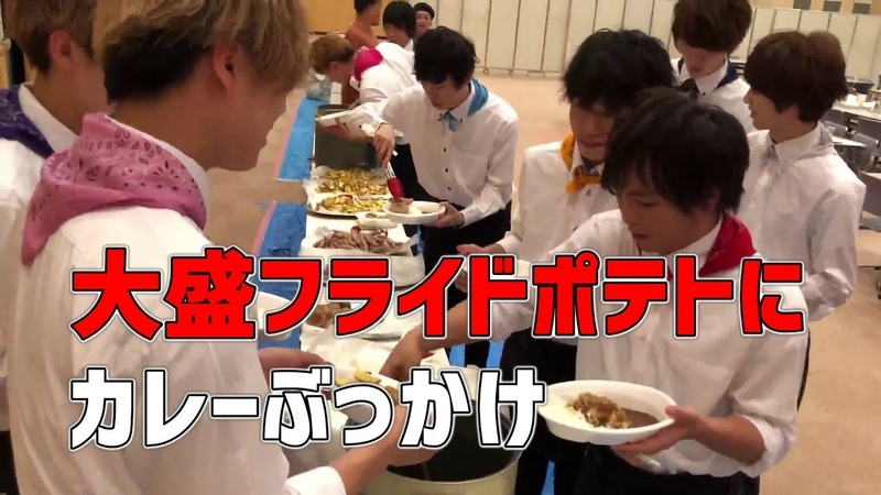 皆の食事風景を映しているが、とみたけの食事量が気になる。