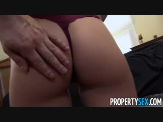 Propertysex gorgeous blonde with natural big tits fucks her new landlord [порно, секс, porn, sex, babe, big tits, blonde, blow