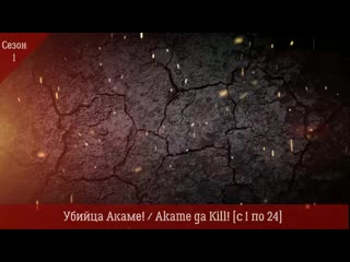 Убийца Акаме! / Akame ga Kill! с 1 по 24 Все серии подряд. Сезон - 1