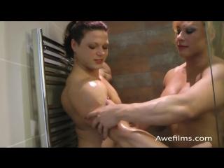 oana hreapca and Rita Sargo Shower part 2