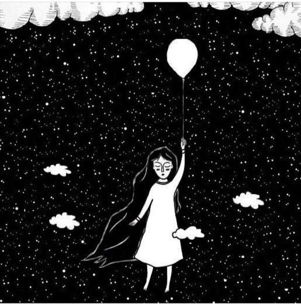 душа полна падающих звезд картинки полянку выходите