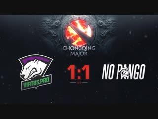 1:1 NoPangolier, bo3. Квалификации на The Chongqing Major