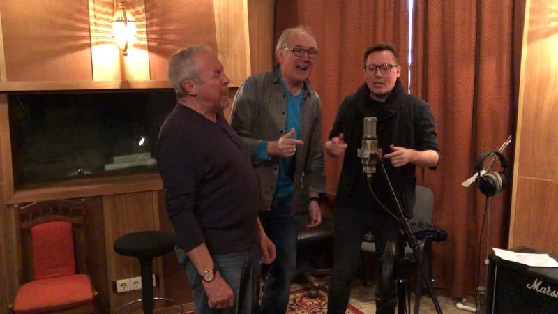 Андрей Макаревич Алексей Иващенко и Ромарио записывают новую песню