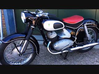 Мотоцикл dkw rt350, 1957 года