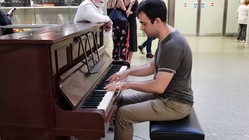 George Gershwin The Man I Love piano cover by Anton Svetlichny London St Pancras