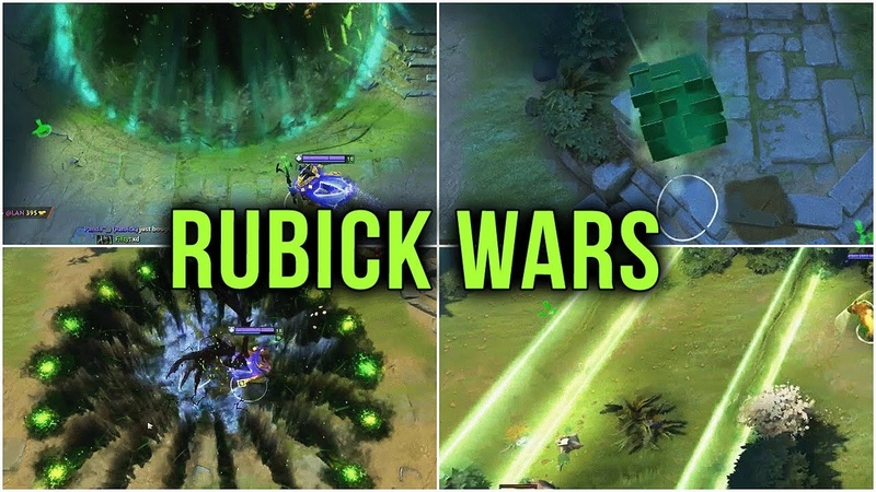 HexOr LIVE @ DOTA Rubick Wars Custom Map vs TOP Rank Immortal Players Dota 2 Custom Game