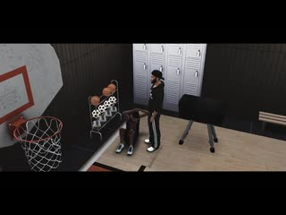 Sims 4 - college basketball player gets hole creampied by coachs bbc