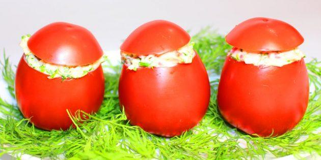 12 простых рецептов фаршированных помидоров, изображение №11