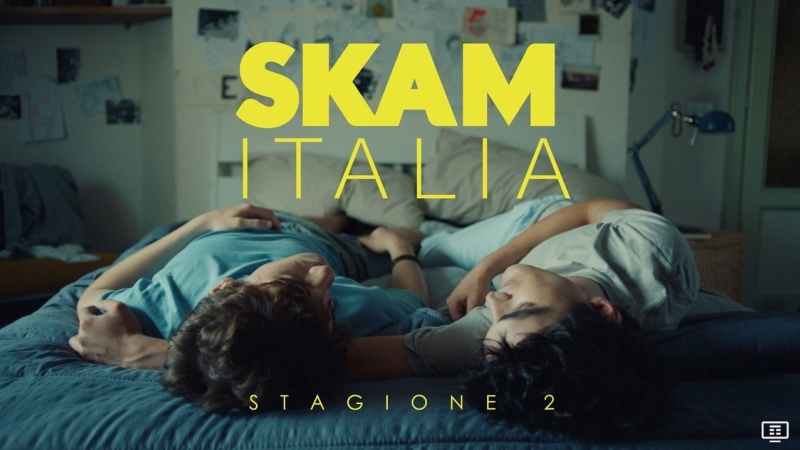 Skam Italia 2 сезон. 1 отрывок.(Вне закона )Рус. субтитры.