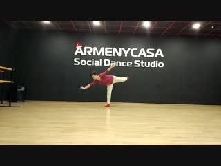 Contemporary dance. Юлия Голева. Школа танцев ArmenyCasa Белгород