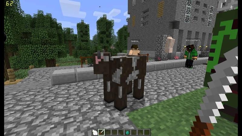 Minecraft Обзор модов Batcher Mod 1 Серия