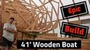 Backyard Boat Building: Frames, Rabbet and bolts. SDP 31