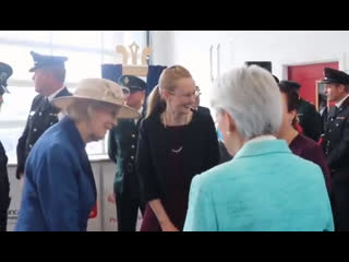 Hrh princess alexandra officially opens lancaster community fire and ambulance station