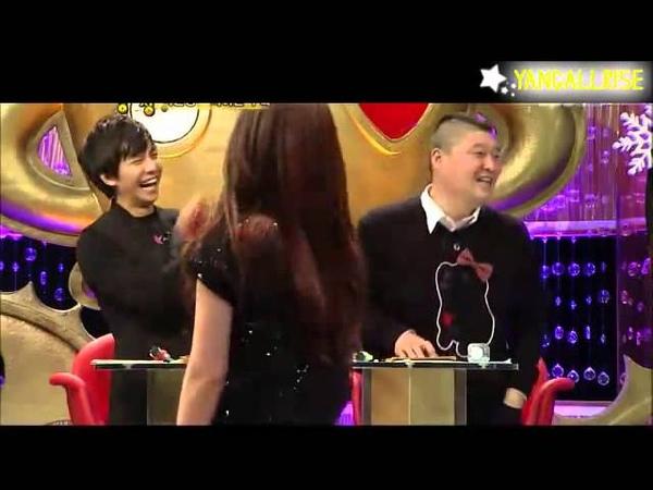 20121225 LeeTeuk's Sister ft Jokwon crazy dance