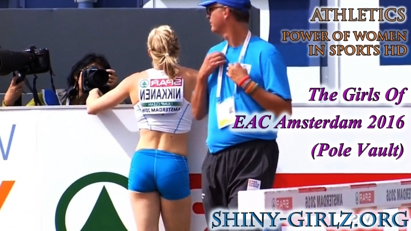 2016 The Girls Of EAC Amsterdam 2016 Pole Vault Part 1