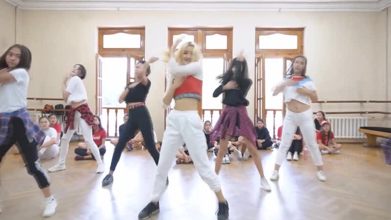 Bhad Bhabie - Hi Bitc* | Choreography Akusya Beginner Group (Mirrored)