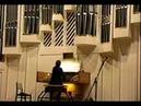Henryk Jan Botor playing his Toccata