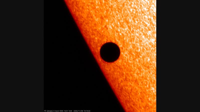 Mercury transit between Earh and the sun