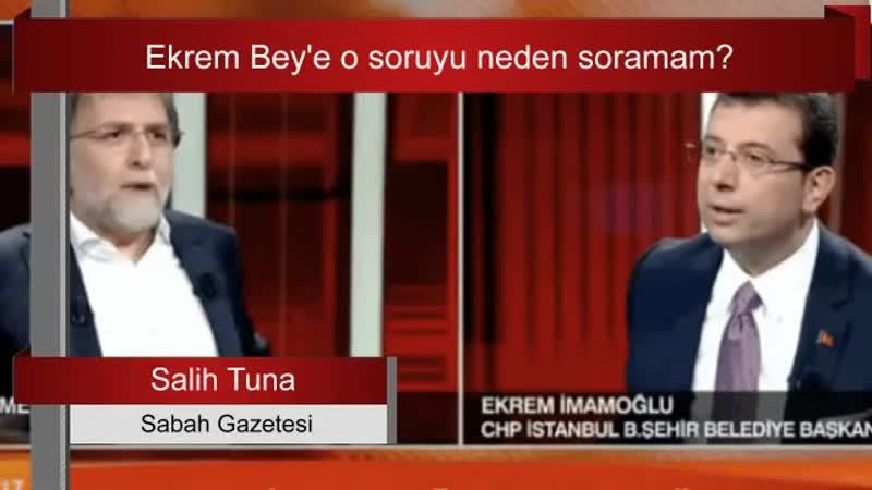 """_""""Ekrem Bey'e o soruyu neden soramam_"""" Salih Tuna yazdı"""