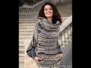 Меланжевый Пуловер Спицами для Женщин 2019 Melange Pullover Knitting needles for Women