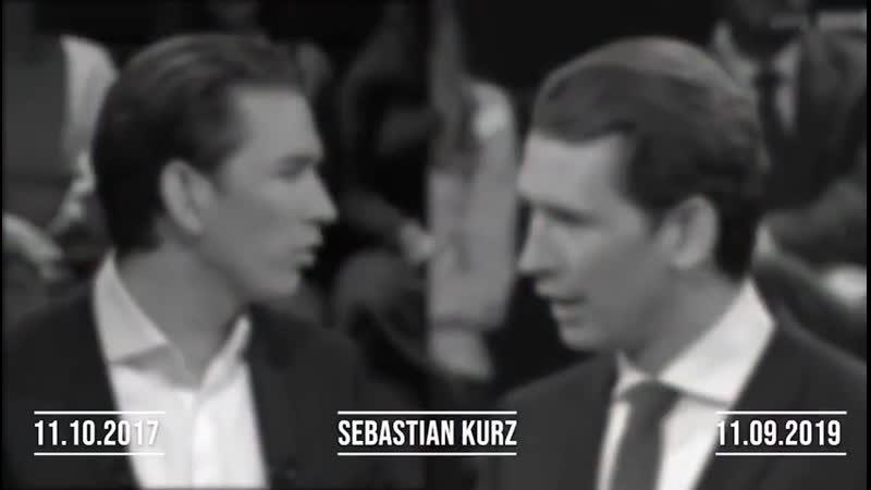 Sebastian Kurz Demenzkrank oder eine verlogene linksversiffte Ratte