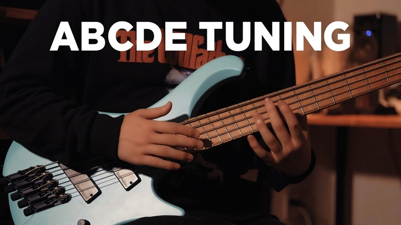 Tuning ABCDE (BASS)
