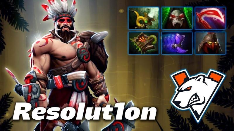 Resolut1on Beastmaster - VIRTUS.PRO Offlane - Dota 2 Pro Gameplay